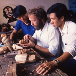 Chinese puppet carvers